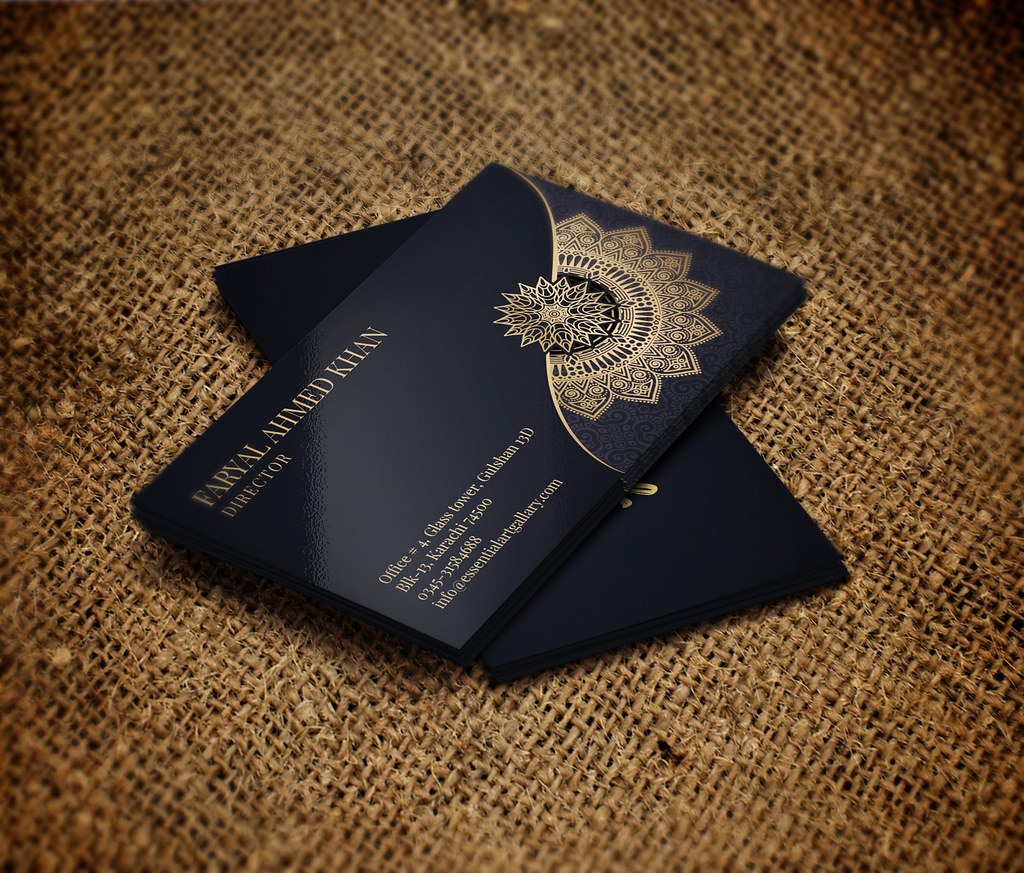 10 Ways To Present Business Card Printing.